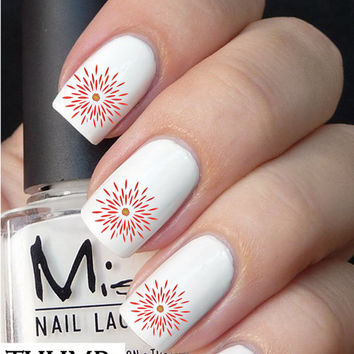 flower petals  nail decals nail decal nail art nail sticker