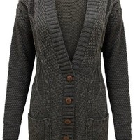 Cable cardigan Grandad