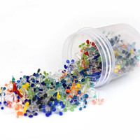 200 Pack - Glass Daisy Pipe Screens