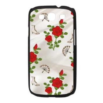 Vintage Red Roses Galaxy S3 Case> Vintage Red Roses> Accessorize Me