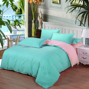 2016 Bedding-set 3 4Pcs King Size Bedding Sets Bed Sheets Duvet Cover Bedclothes Linen Colcha De Cama Bedspread No Comforter