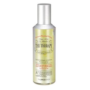 [THE FACE SHOP] The Therapy Oil Drop Anti-aging Serum (Big Size)