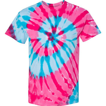 Typhoon Neon Tie-Dye Shirt.  4 Different Colors.  6 Different Sizes.  Short Sleeve.