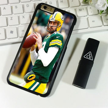 Aaron Rodgers Green Bay Packers Football iPhone 6 Plus | 6S Plus Case Planetscase.com