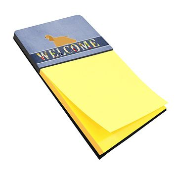 Cocker Spaniel Welcome Sticky Note Holder BB5490SN