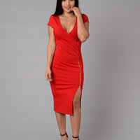 Evelyn Dress - Red
