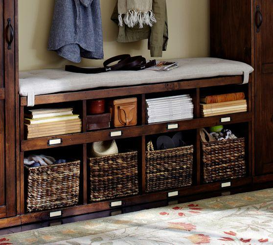 OLIVIA BENCH - TUSCAN CHESTNUT STAIN From Pottery Barn