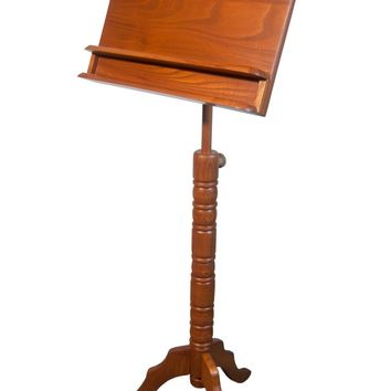 Roosebeck Double Shelf Colonial Music Stand - Red Cedar