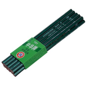 10 Hexagonal degree of hardness scale HB pencil for school Office
