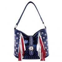 """American Pride"" Montana West 2016 American Flag Shoulder Bag, Purse"