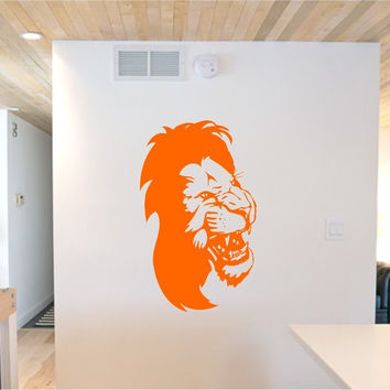 Lion Face Version 113 Sticker Wall Decal Animal King of the Jungle Art Graphic