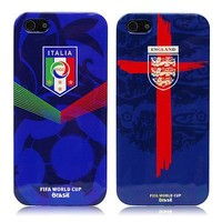 Football Fans Hot 2014 FIFA Brazil World Cup 13x National Flag Hard Case Cover For iPhone 5 5S 5G (Italy)