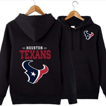 New Spring texans Hoodies 3D Sweatshirts Men Women Unisex Hooded Tracksuits Autumn Winter Pullover for houston gift