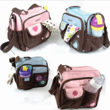 fashion multifunctional package baby diaper bags nappies mummy bag maternity handbag shoulder bag tote messenger bags = 1946455428