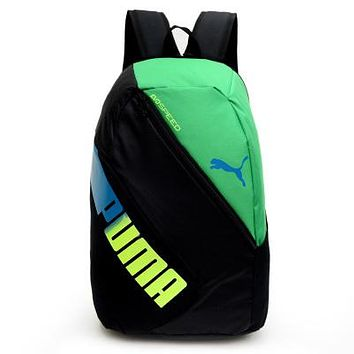 PUMA Fashion Multicolor Print Sport Shoulder Bag Travel Bag School Backpack