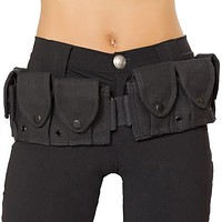 Sexy Police Belt with Pouches Halloween Accessory