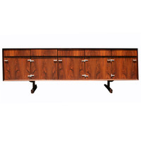 A 7 ft Rosewood Console by Jorge Zalszupin