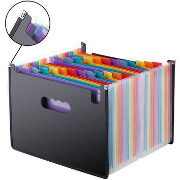 Expanding File Folder 24 Pockets / Document Organizer