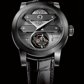 Girard-Perregaux Tourbillon Bi-Axial Tantalum Men's Watch 99810-81-000-BA6A