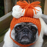 Pebbles Cave Girl or Cave Boy  Dog Hat / Made to Order