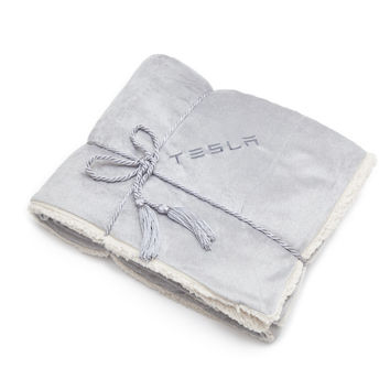 Tesla Gear Shop — Lambswool Blanket