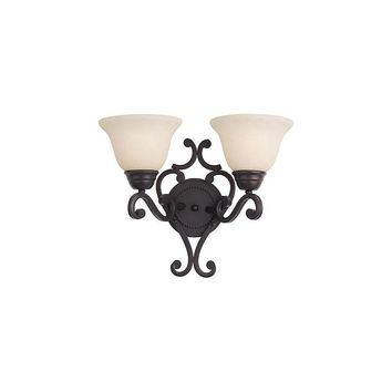 Maxim Lighting Manor 2-Light Wall Sconce (Oil Rubbed Bronze)