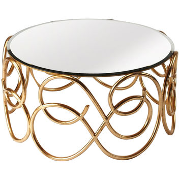 Concerto Antique Gold Cocktail Table