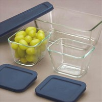 Pyrex Simply Store 6-Piece Glass Food Storage Set