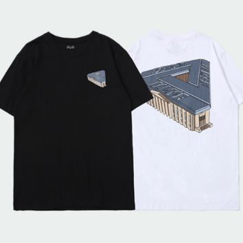 Three-dimensional printing of men's casual short-sleeved T-shirt in Triangle Building [41661342351720]