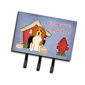 Dog House Collection Beagle Tricolor Leash or Key Holder