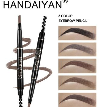 5 Color Double Ended Eyebrow Pencil