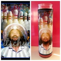 The Big Lebowski /The Dude Prayer candle