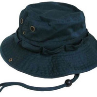 S Cloth Hunter Green Bucket Hat Boonie Hunting Fishing Out R Cap Washed Cotton