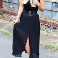 The Chic Pleat [Maxi Skirt]