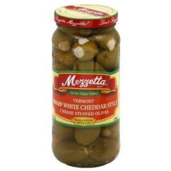 Mezzetta White Cheddar Stuffed Olives (6x9.5oz)