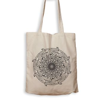 Mandala Waves - Tote Bag