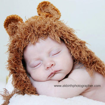 Newborn Crochet Hats Newborn Photo Props Baby Boy by knoodleknits