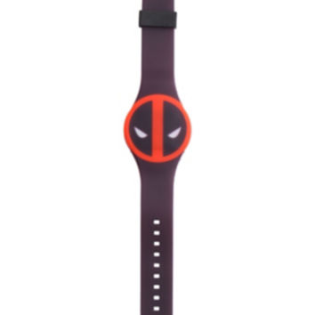Marvel Deadpool Rubber LED Watch