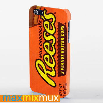 Reese'S Peanut Butter Cup iPhone 4/4S, 5/5S, 5C Series Full Wrap Case