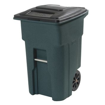 Residential Heavy Duty Two Wheeled Trash Can