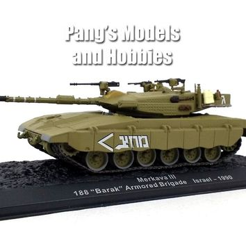 Merkava Tank - Israel Defense Forces 1/72 Scale Die-cast Model by Altaya