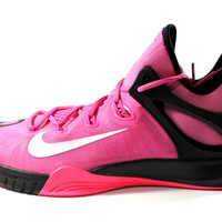 Nike Men's Zoom Hyperrev 2015 Pink Ribbon Basketball Shoes 705370 606
