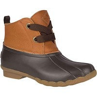 Women's Saltwater 2-Eye Leather Duck Boot by Sperry
