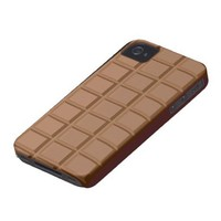Milk Chocolate bar iphone 4 case from Zazzle.com