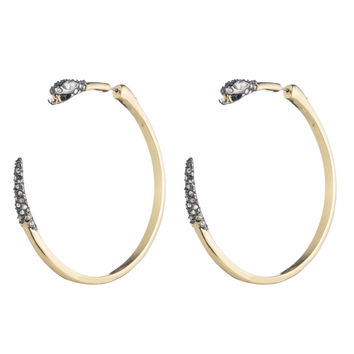 Two Part Snake Hoop Earring | Alexis Bittar