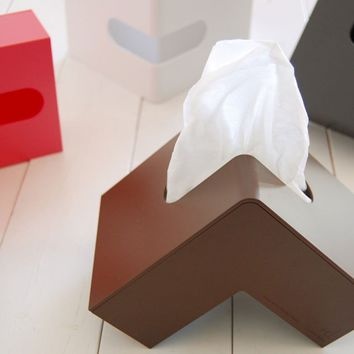 Fancy - Folio L-Shaped Tissue Box