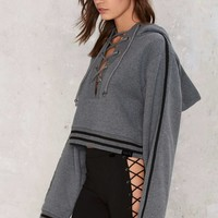 FENTY PUMA by Rihanna Rising Sun Hooded Jacket - Gray