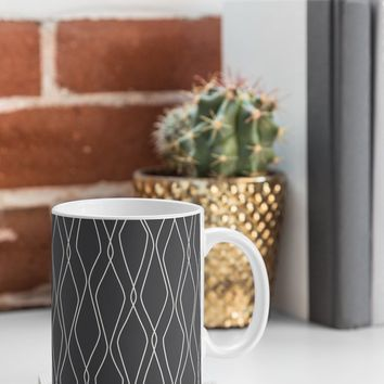 Heather Dutton Fuge Slate Coffee Mug