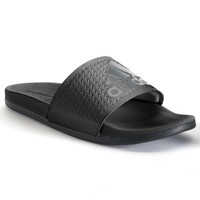 adidas Adilette Supercloud Plus Men's Slide Sandals (Black)
