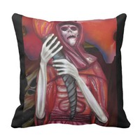 Holiday Evil Throw Pillow
